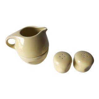 Russel Wright for Oneida Creamer and Sugar Shakers For Sale