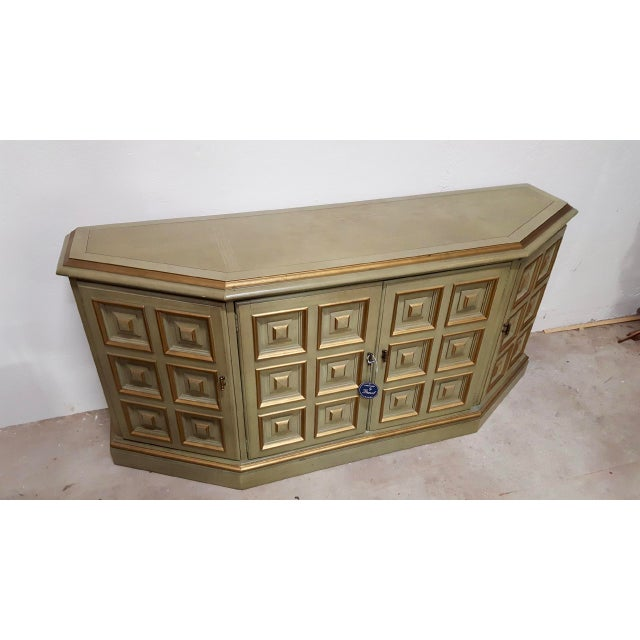 """Avocado """"Esperanto"""" Credenza by Drexel For Sale In Raleigh - Image 6 of 7"""