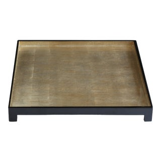 Silver Leaf Windsor Square Tray For Sale