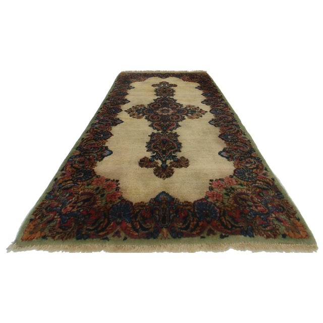 RugsinDallas Persian Kerman Hand Knotted Wool Rug- 2′2″ × 4′3″ - Image 2 of 2