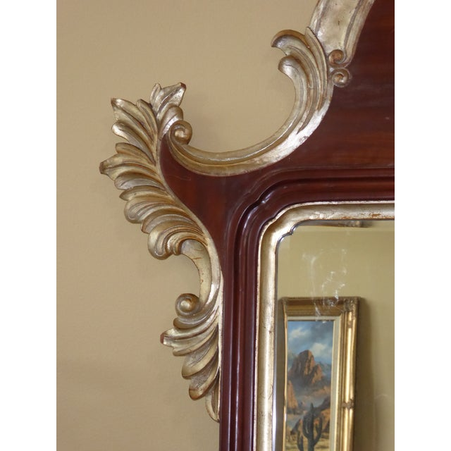Large Harrison Gil Christopher Guy 8 Foot Tall French Rococo Gold Mahogany Wall Mirror