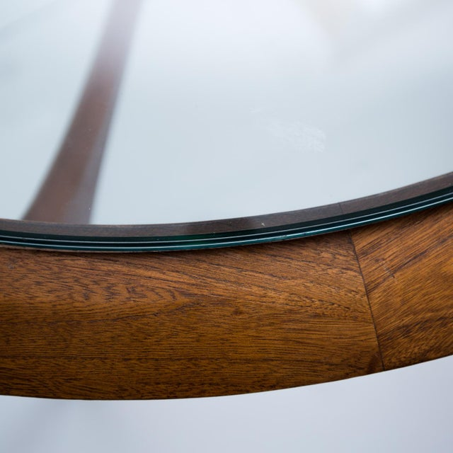 Lane Mid-Century Modern Round Coffee Table - Image 9 of 9