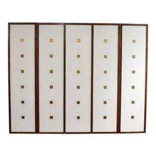 Hanging Wall Cabinet by Bert England For Sale