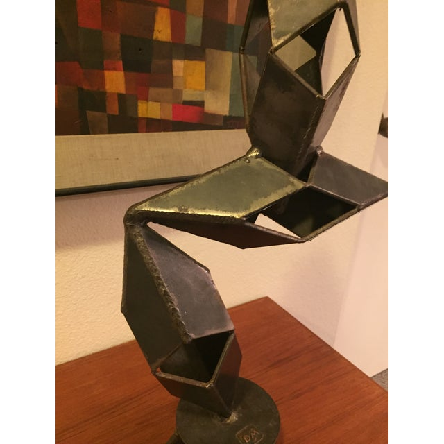 Mid-Century Modern Signed Sculpture - Image 8 of 11