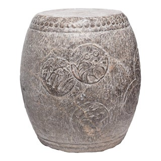 Chinese Charm Stone Drum For Sale