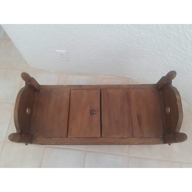 Anglo-Indian Indonesian Jodang Teak Wood Table For Sale - Image 3 of 8