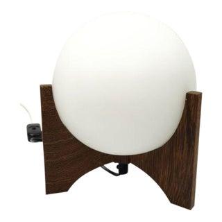 Hokusai D-2022 Raak Amsterdam 1960 Mid Century Modern Space Age Globe Table Lamp
