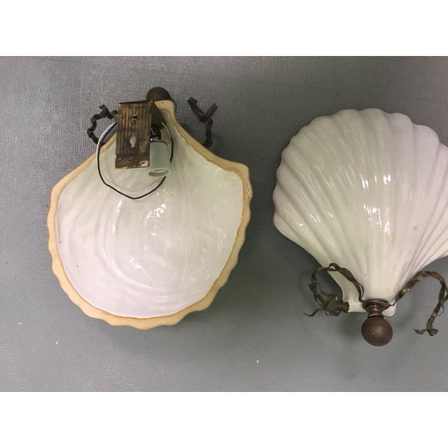 1980s Hart & Associates Ceramic Wall Sconces - A Pair For Sale - Image 5 of 8