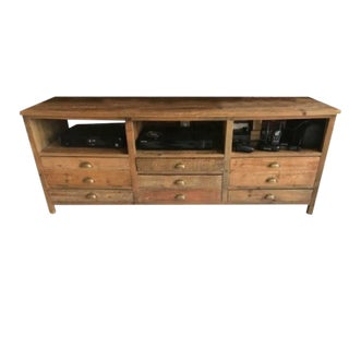 Mecox Gardens Rustic Entertainment Console