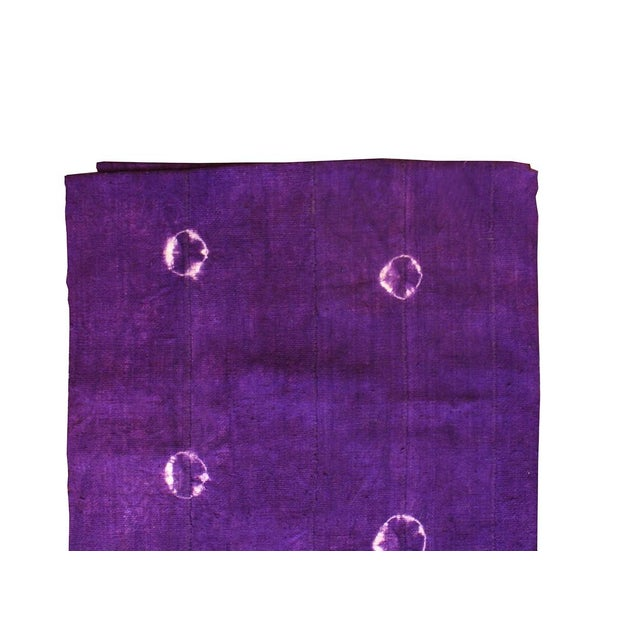 Violet purple mud cloth textile. A great Boho Chic piece to add to your decor! Local Pickup is available ONLY during...