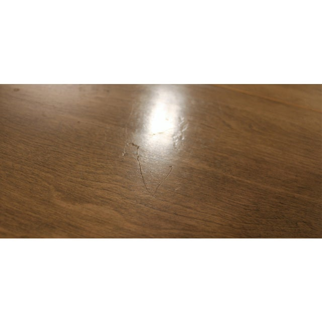 Mid-Century Modern Heywood Wakefield Cadence Sable Drop Leaf Dining Table For Sale - Image 9 of 11