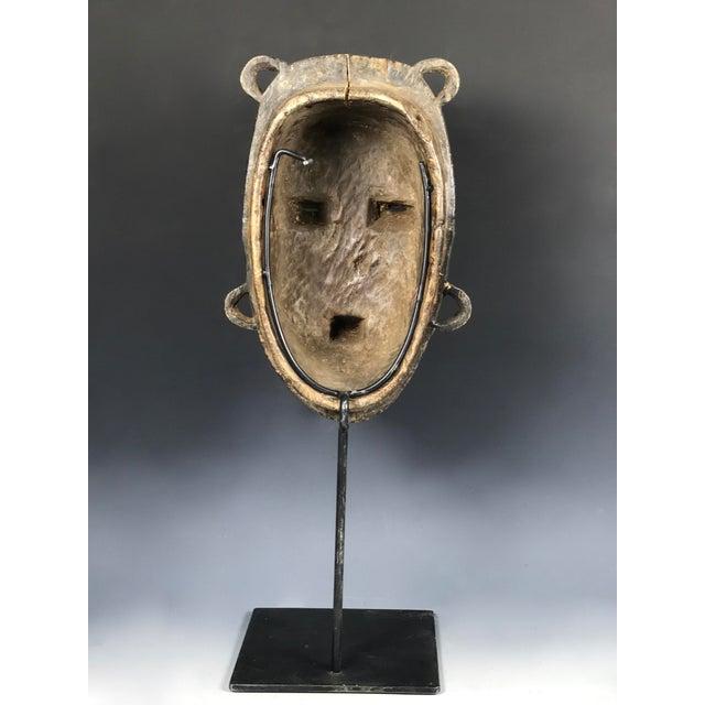 African Tribal Art Kulango Mask From Ivory Coast For Sale - Image 4 of 11