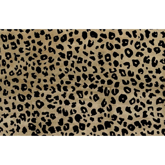 Contemporary Contemporary Hand Woven Animal Print Rug - 9'1 X 12'2 For Sale - Image 3 of 4