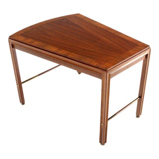 Mid Century Modern Solid Walnut Side or Coffee Table For Sale