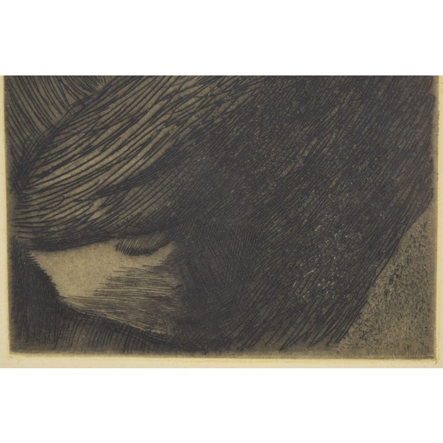 1960s 1960s Expressionist Kathe Kollwitz Etching of Mother and Child - Mutter Mit Kind For Sale - Image 5 of 8