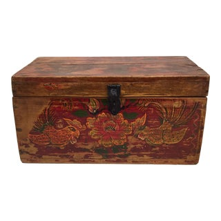 Chinese Painted Box For Sale