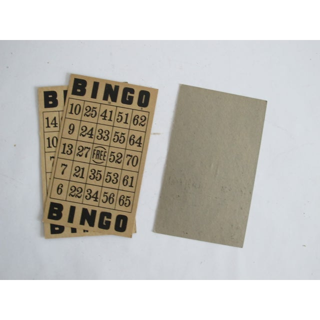 Vintage Bingo Cards - Set of 3 - Image 3 of 3