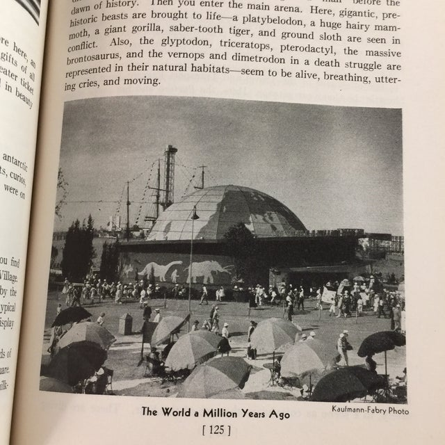 1933 Official Guide Book Chicago World's Fair Book For Sale - Image 11 of 13