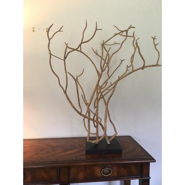 Arteriors Dunston Iron Tree Sculpture - Image 2 of 4