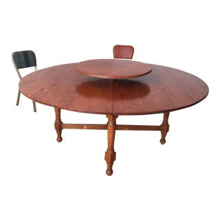 Early American Dining Table For Sale