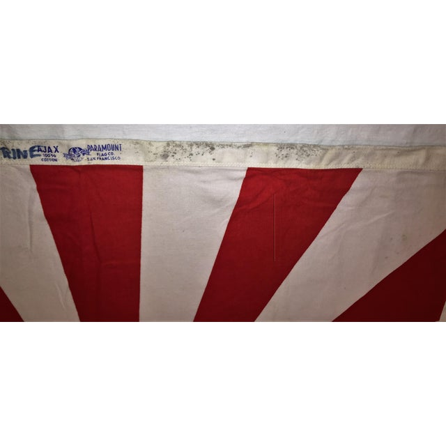 Vintage Japanese Rising Sun Flag - Image 2 of 8