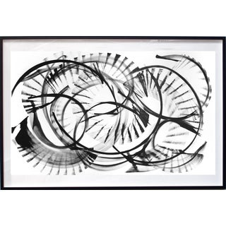 """Epsilon Eridani"" Original Framed Black and White Artwork by Thomas Hammer For Sale"