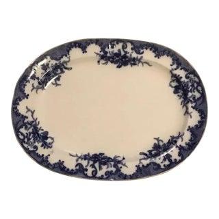 Furnivals Porcelain Ceramic Large Platter For Sale