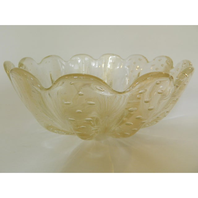 Mid-20th Century Murano Glass Bowl For Sale In New York - Image 6 of 6