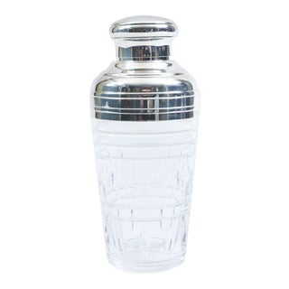 Mid-20th Century Saint Louis Crystal Martini / Cocktail Shaker For Sale