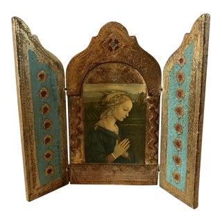 Italian Florentine Triptych