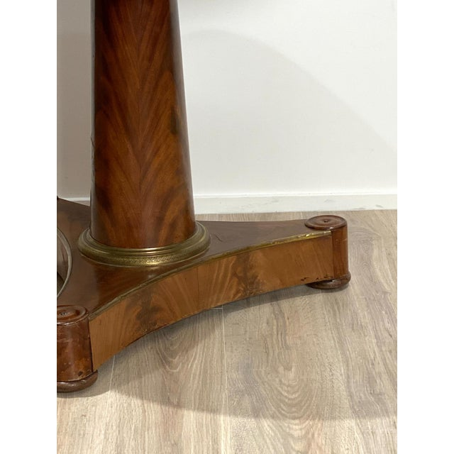 Early 20th Century Empire Style Center Table For Sale - Image 5 of 6