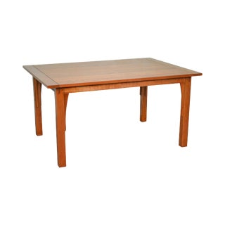 Stickley Mission Style Solid Cherry Dining Table W/ 2 Leaves