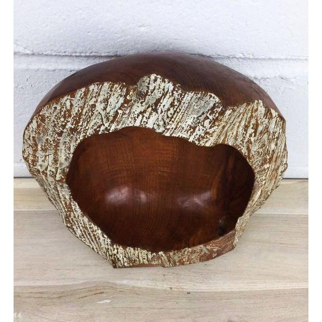 Handmade Teak Wooden Bowl - Image 9 of 11