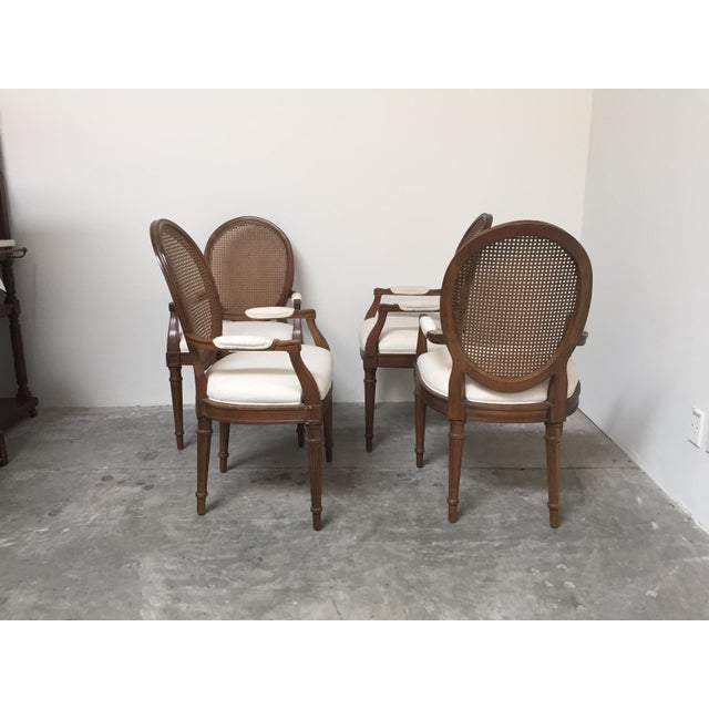 Louis XVI Style Dining Chairs- Set of 6 - Image 4 of 11