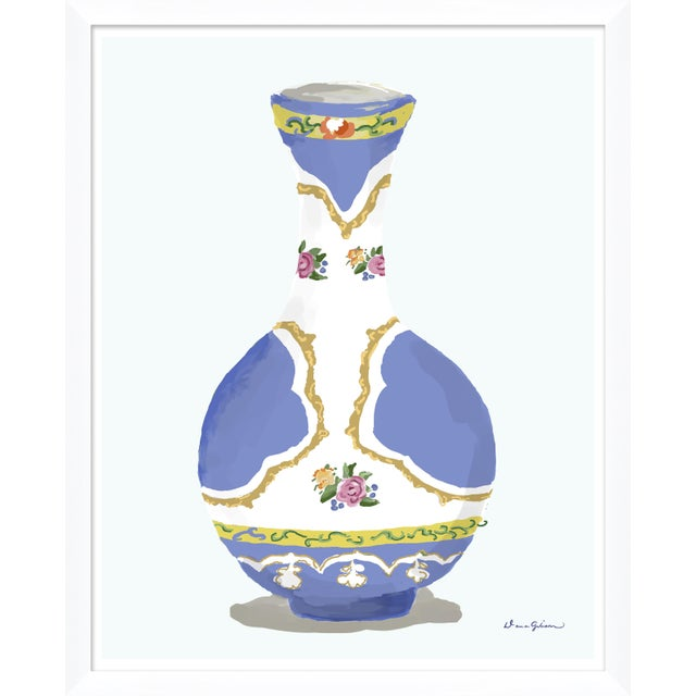 """Contemporary """"Vase Series"""" By Dana Gibson, Framed Art Print For Sale - Image 3 of 3"""