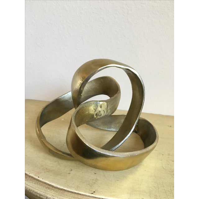 Metal Modern Art Piece - Image 2 of 3