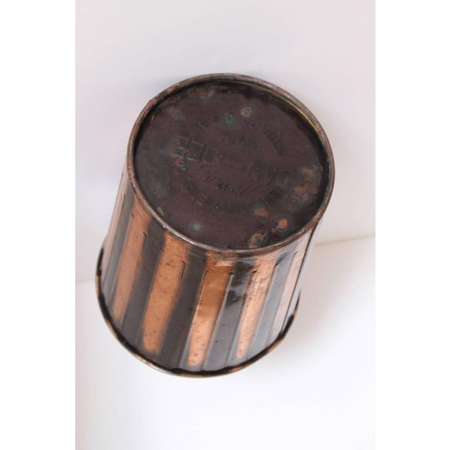 Art Deco Machine Age Art Deco Industrial Arts Waste Receptacle by Erie Art Metal For Sale - Image 3 of 11