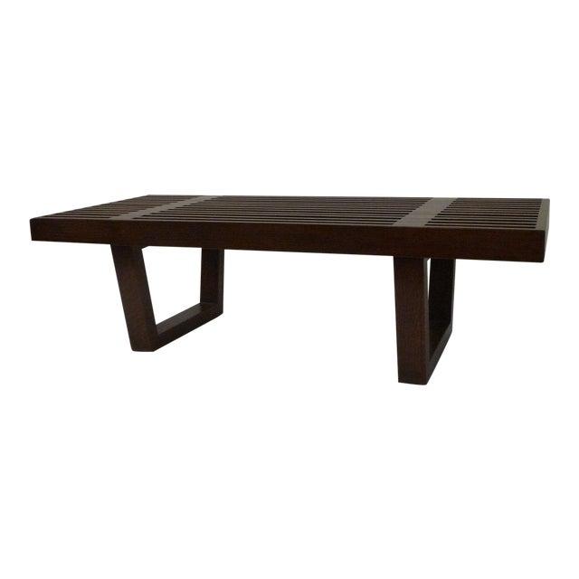 Mid Century Platform Bench For Sale