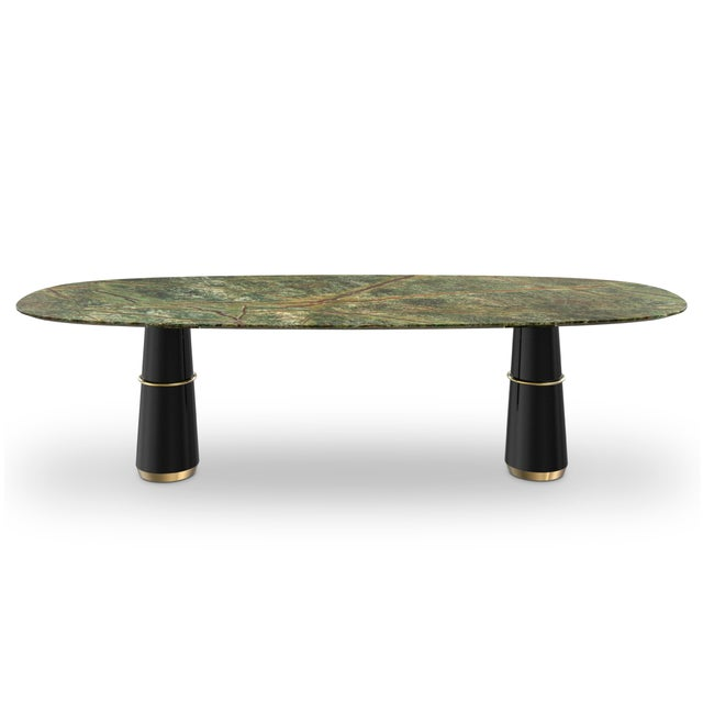 Not Yet Made - Made To Order Covet Paris Agra III Dining Table For Sale - Image 5 of 5