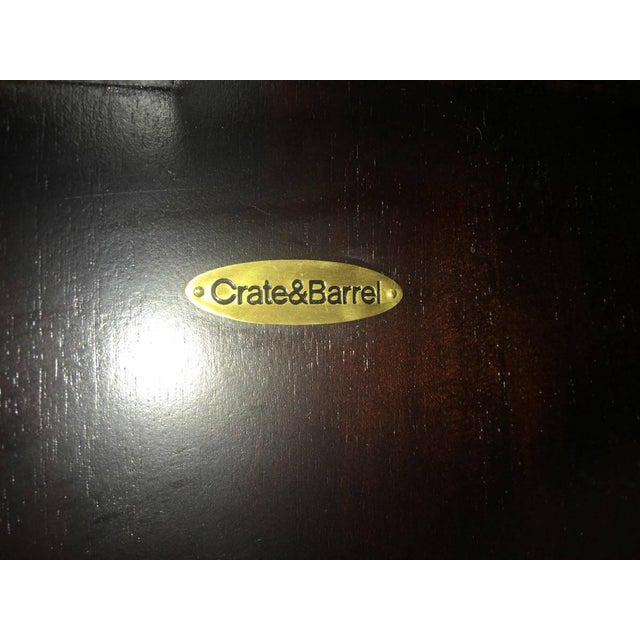 Modern Crate & Barrel Cirque 3 Door Sideboard For Sale - Image 3 of 11