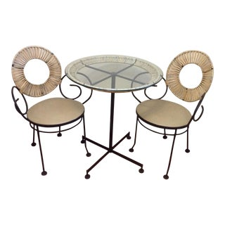 Mid-Century Modern Arthur Umanoff Cafe Set C. 1950