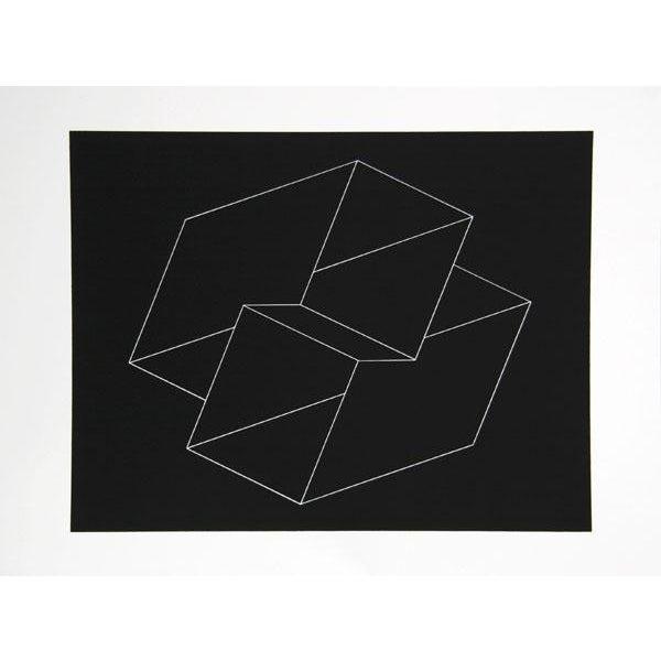 "Josef Albers ""Portfolio 2, Folder 10, Image 1"" Print - Image 1 of 3"