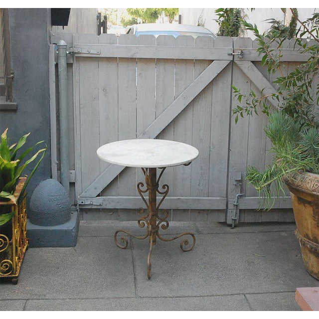 Mid 19th Century English Round Garden Table For Sale - Image 10 of 11