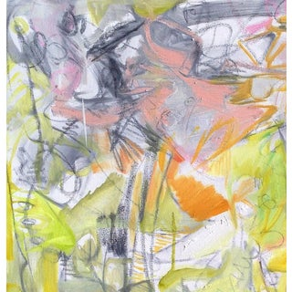 """""""Garden"""" by Trixie Pitts Abstract Expressionist Oil Painting Preview"""