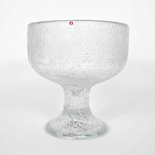 Mid-Century Modern 1970s Iittala 'Puro' Centerpiece Bowl by Tapio Wirkkala For Sale - Image 3 of 8