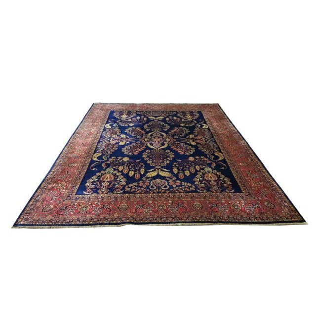 Textile Traditional Wool Handmade Rug For Sale - Image 7 of 7