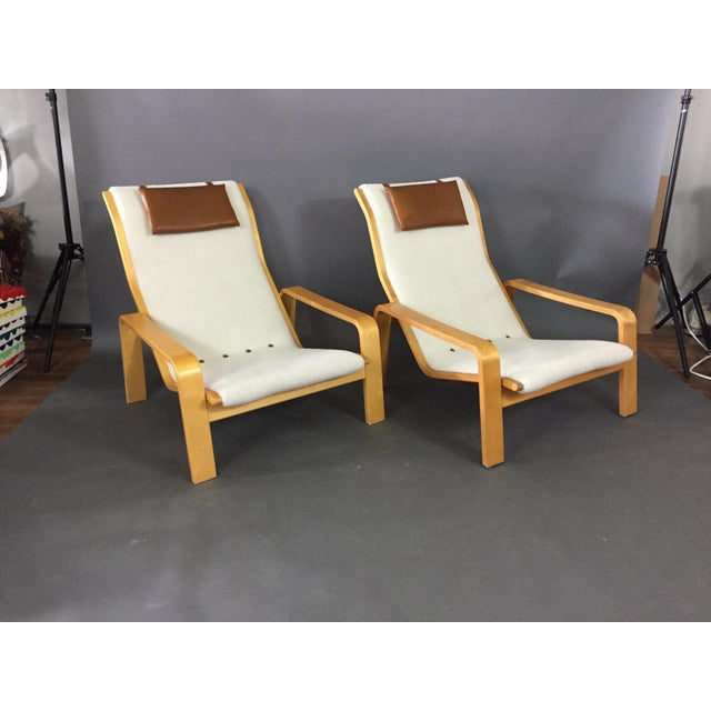 Ilmari Lappalainen Pulkka Lounge Chair for Asko Finland, 1960s For Sale - Image 9 of 9