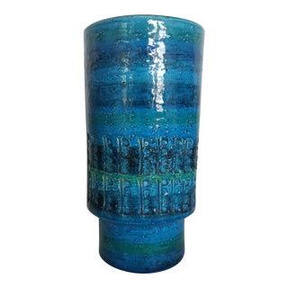 Aldo Londi Rimini Blu Bitossi Vase For Sale