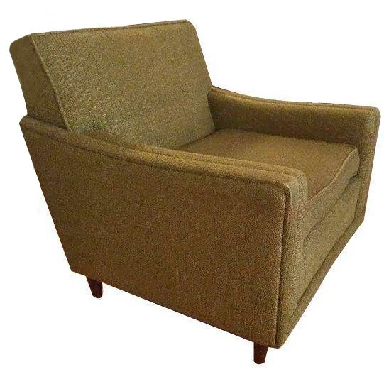 Mid-Century Modern Green Armchair - Image 2 of 3