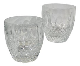 Image of Crystal Lowball Glasses